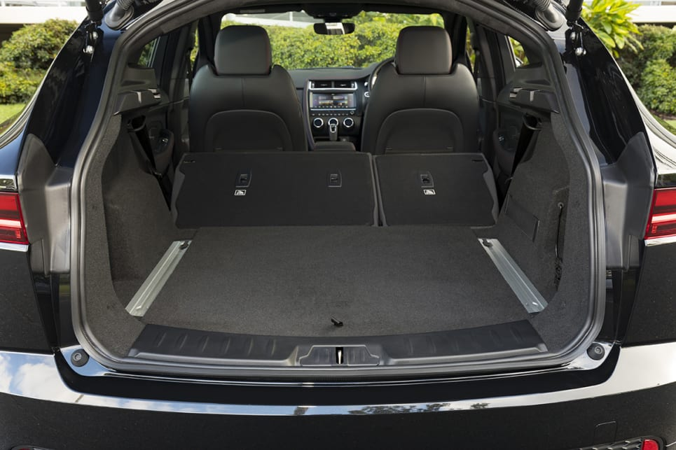 Fold down the rear seats and the boot will increase to 1200 litres.