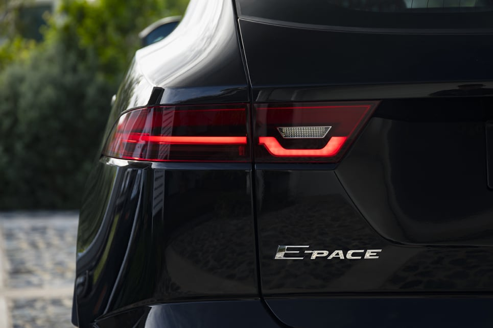 There really isn't an angle from which the E-Pace doesn't look good.