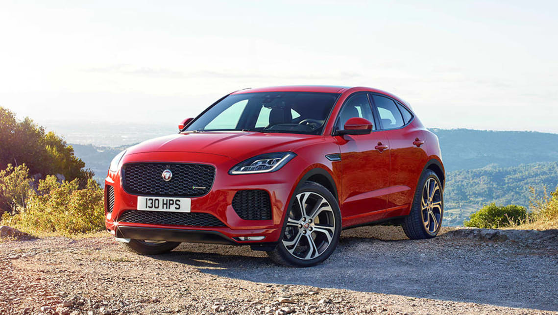 jaguar e pace 2018 revealed car news carsguide. Black Bedroom Furniture Sets. Home Design Ideas