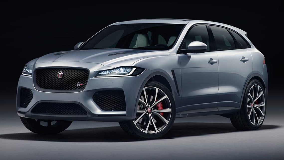 jaguar f pace svr 2018 pricing and specs confirmed car news carsguide. Black Bedroom Furniture Sets. Home Design Ideas
