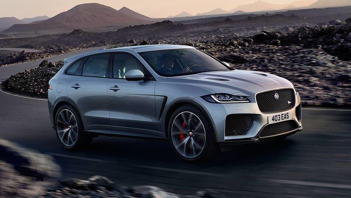 Jaguar F Pace Svr 2019 Revealed In New York Car News Carsguide