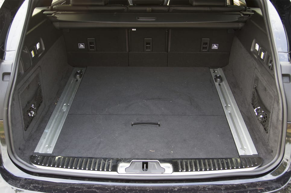 The boot holds 565 litres with the seats in place. (image credit: Peter Anderson)
