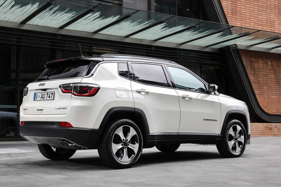 2017 Jeep Compass For Sale >> Jeep Compass Limited 2018 review: snapshot | CarsGuide