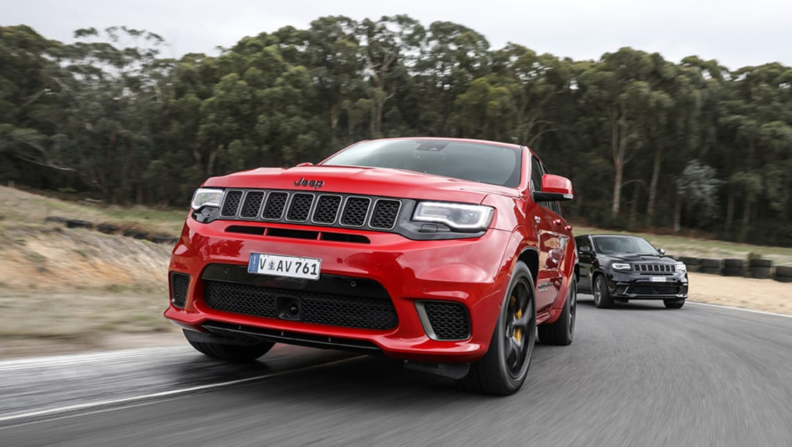 Jeep will also launch a new Deserthawk range by 2020; both of which will join the existing off-road-focused Trailhawk family.