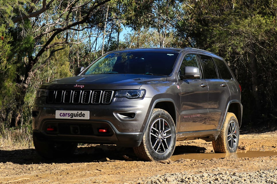 Jeep Grand Cherokee Trailhawk 2018 Off Road Review