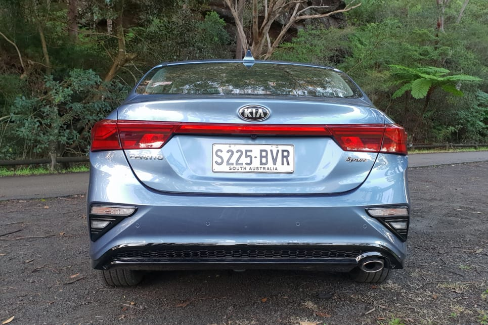 The look of the Cerato is just right - not too conservative, not too adventurous.