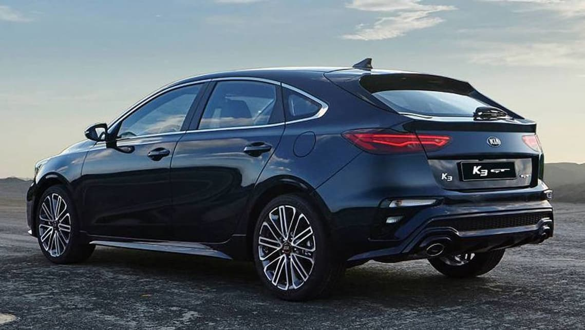 Kia Cerato Gt 2019 Hatch Previewed Car News Carsguide
