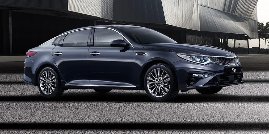 kia optima 2018 facelift revealed car news carsguide. Black Bedroom Furniture Sets. Home Design Ideas