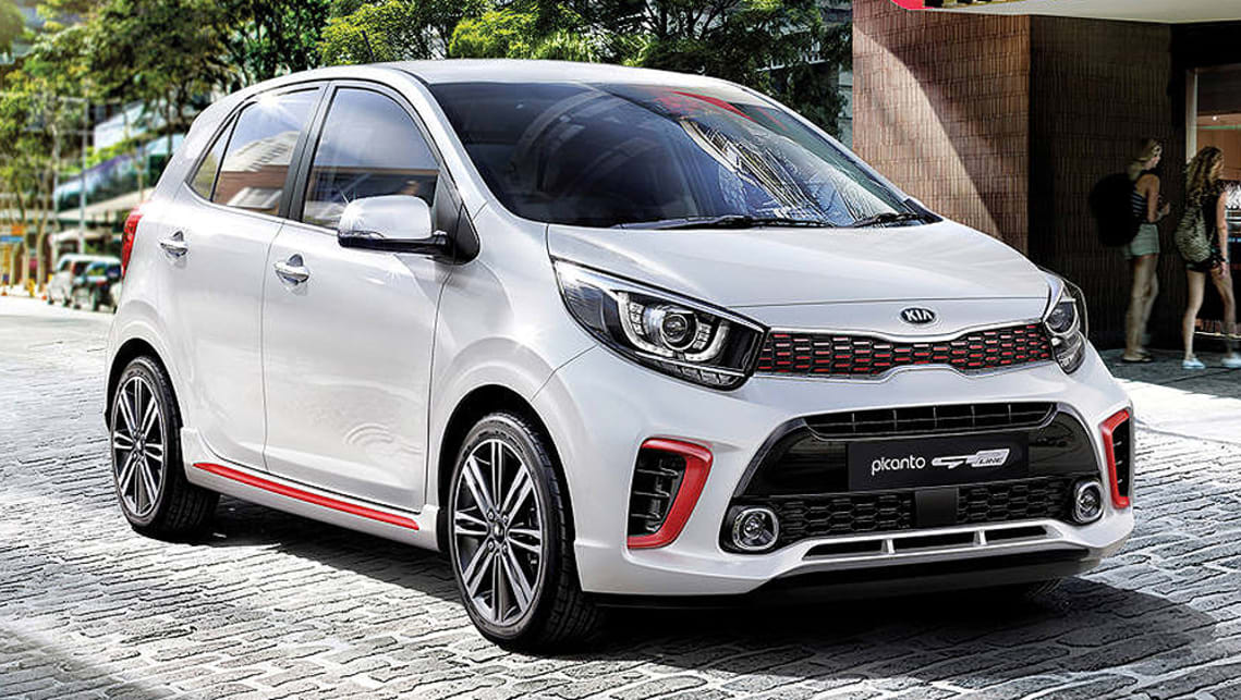 kia picanto gt line 2018 pricing and specs confirmed car news carsguide. Black Bedroom Furniture Sets. Home Design Ideas