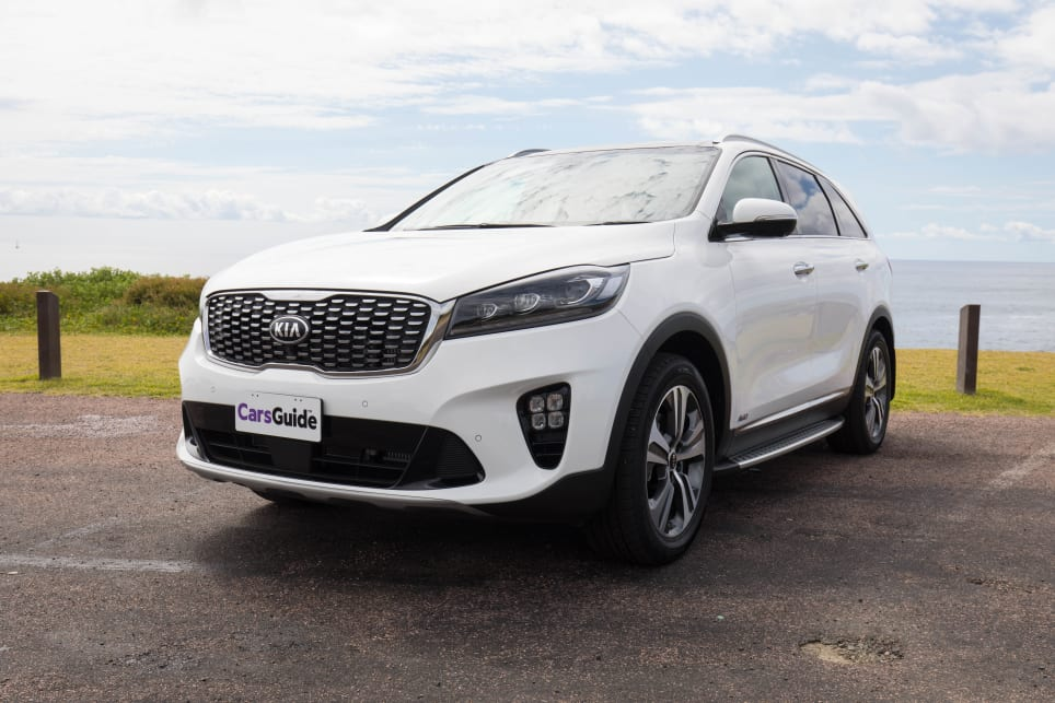 The Kia Sorento is a quality large SUV.