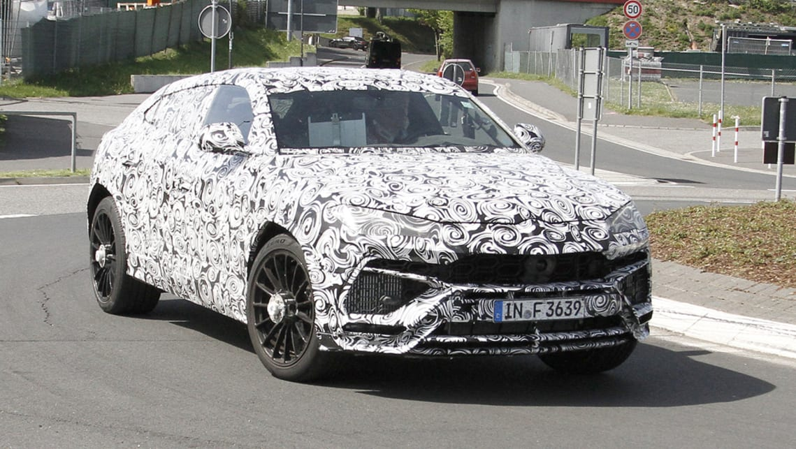 Lamborghini Urus 2018 Spy Shots Car News Carsguide