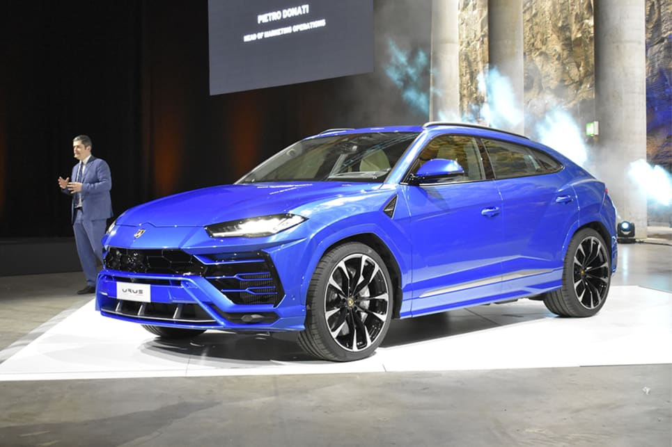 lamborghini family car. is the urus best looking suv? (image credit: mitchell tulk) lamborghini family car r