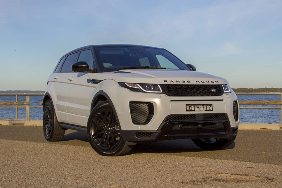 range rover evoque 2018 review hse dynamic si4 290. Black Bedroom Furniture Sets. Home Design Ideas