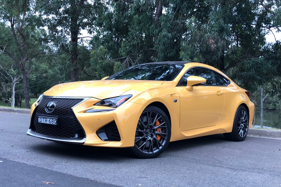 The RC F is the angriest member of the RC family. (image: Andrew Chesterton)
