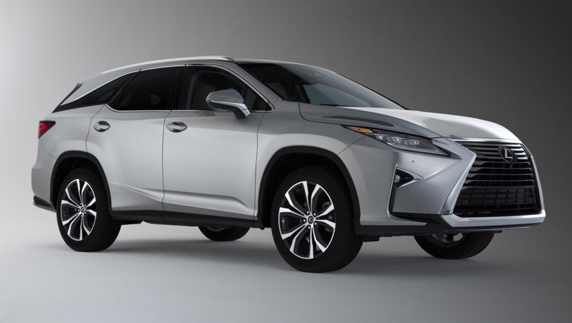 Lexus RX L 2018 revealed in LA - Car News | CarsGuide