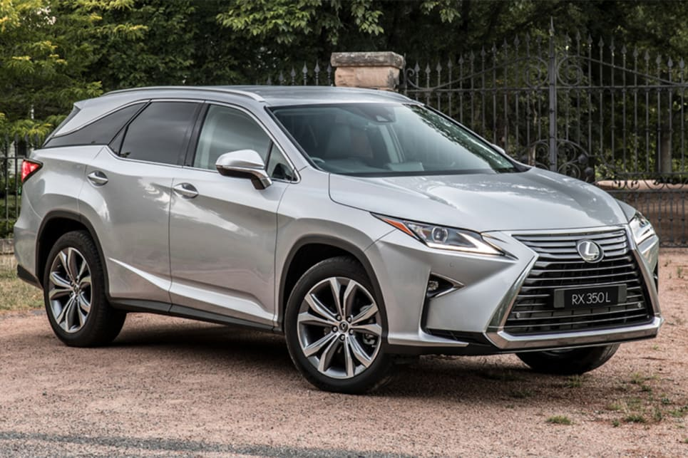 In 'Luxury' form, the RX350L and RX450hL open the line-up from $84,700 and $93,440 before on-road costs.