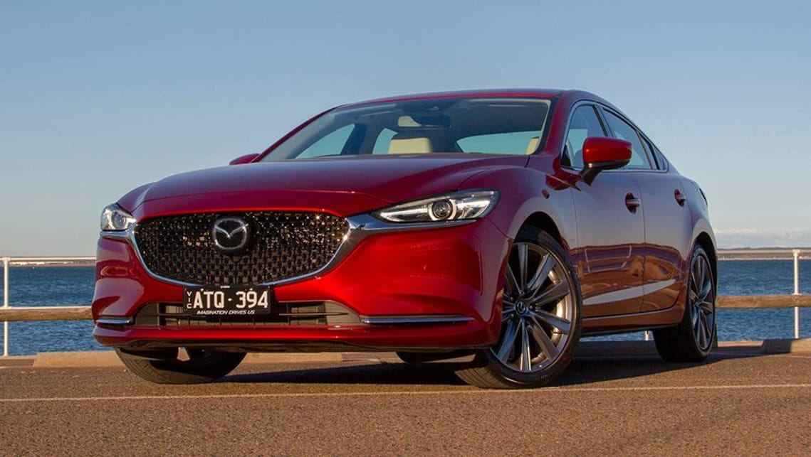 Mazda won't let us give up on the 6. (image: Peter Anderson)