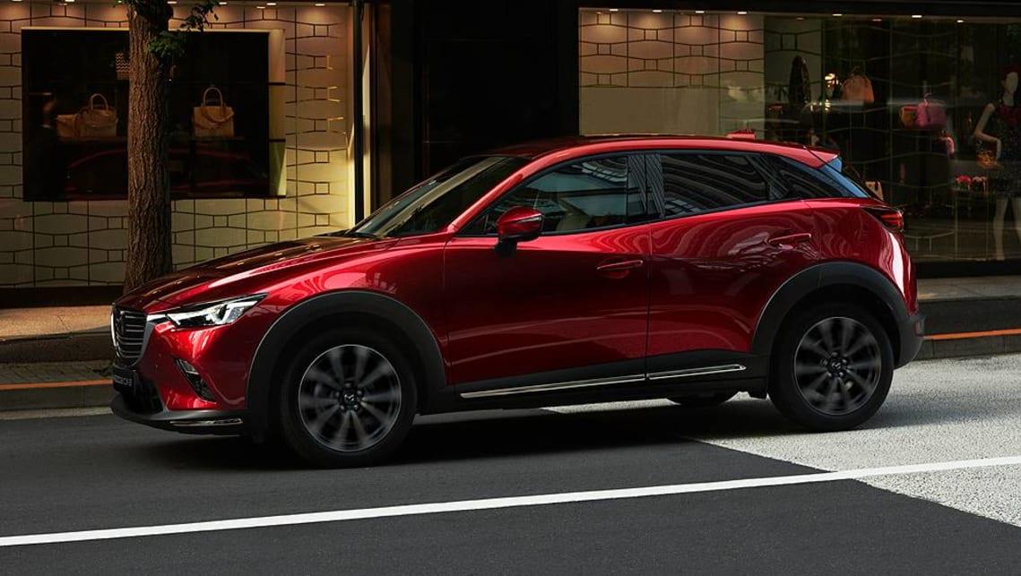 mazda cx 3 2018 revealed at new york show car news carsguide. Black Bedroom Furniture Sets. Home Design Ideas