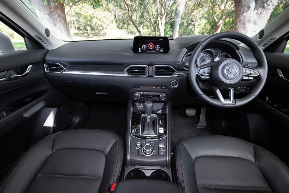 In the Akera you'll get leather seats that are very comfortable to sit on, and can also be heated, plus a leather steering wheel.