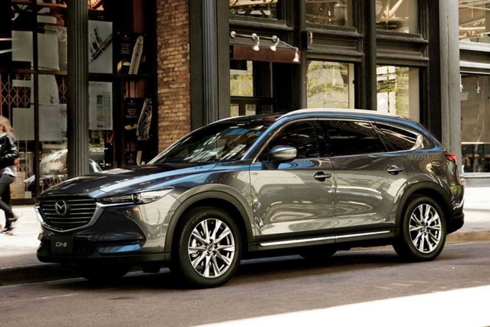 Mazda CX-8 confirmed for Oz