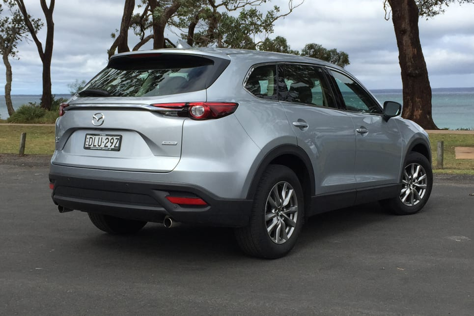 There Are Four Grades In The CX 9 Family And The Touring Is The Second