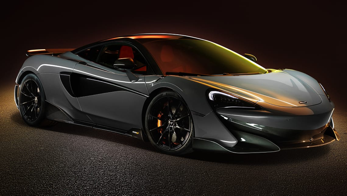 The lightweight and track-ready 600LT.