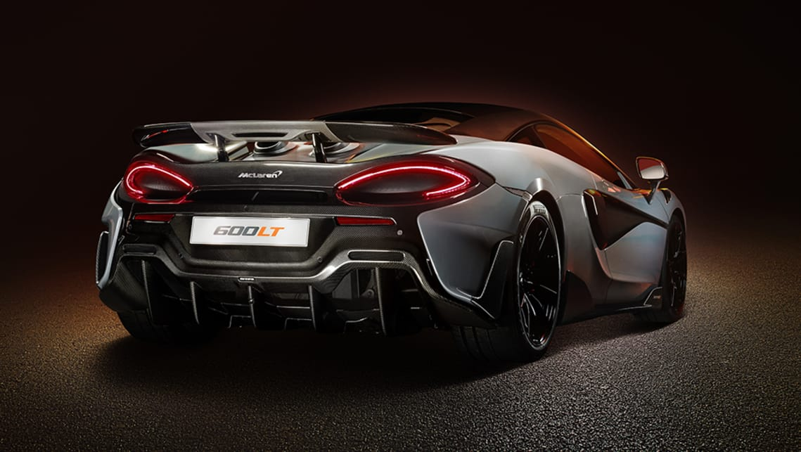 Mclaren 600lt 2019 Unveiled More Power Less Weight For Hardcore