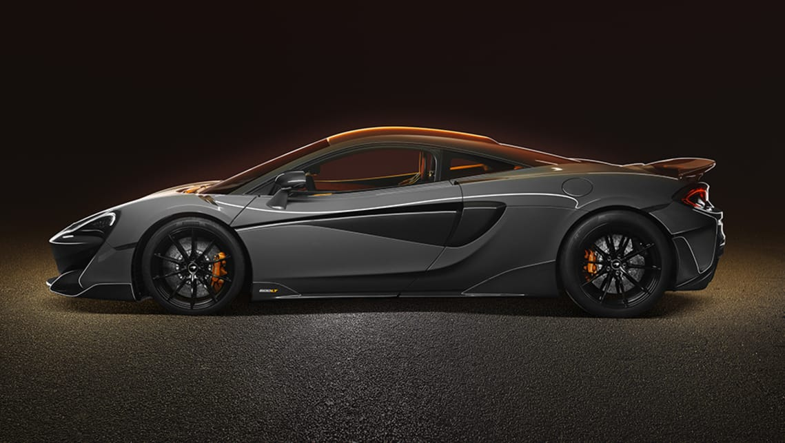 The 600LT is based on the 570S and is the fourth McLaren to wear the Longtail name.