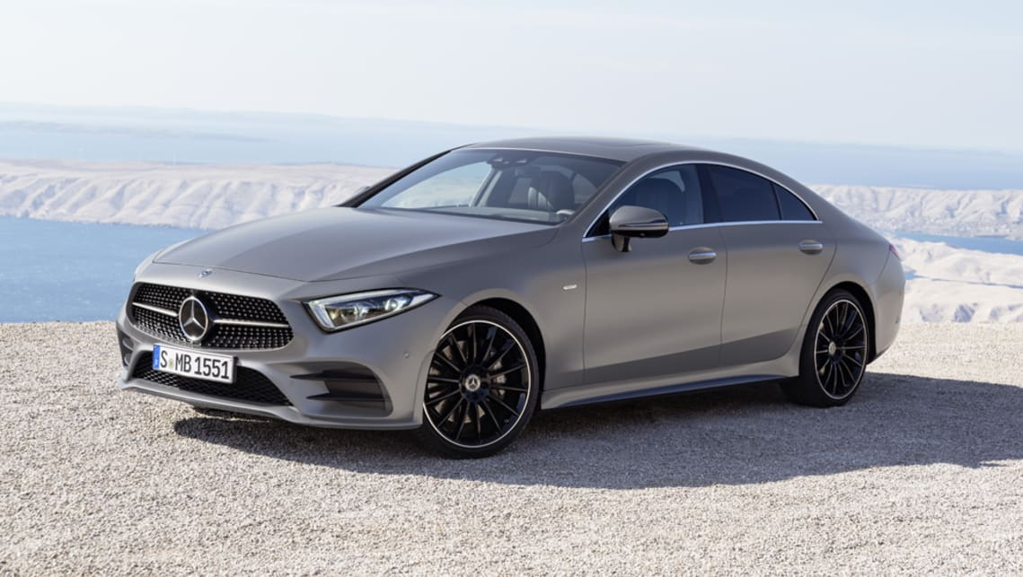 Mercedes Benz Cls 2018 Revealed In La Car News Carsguide