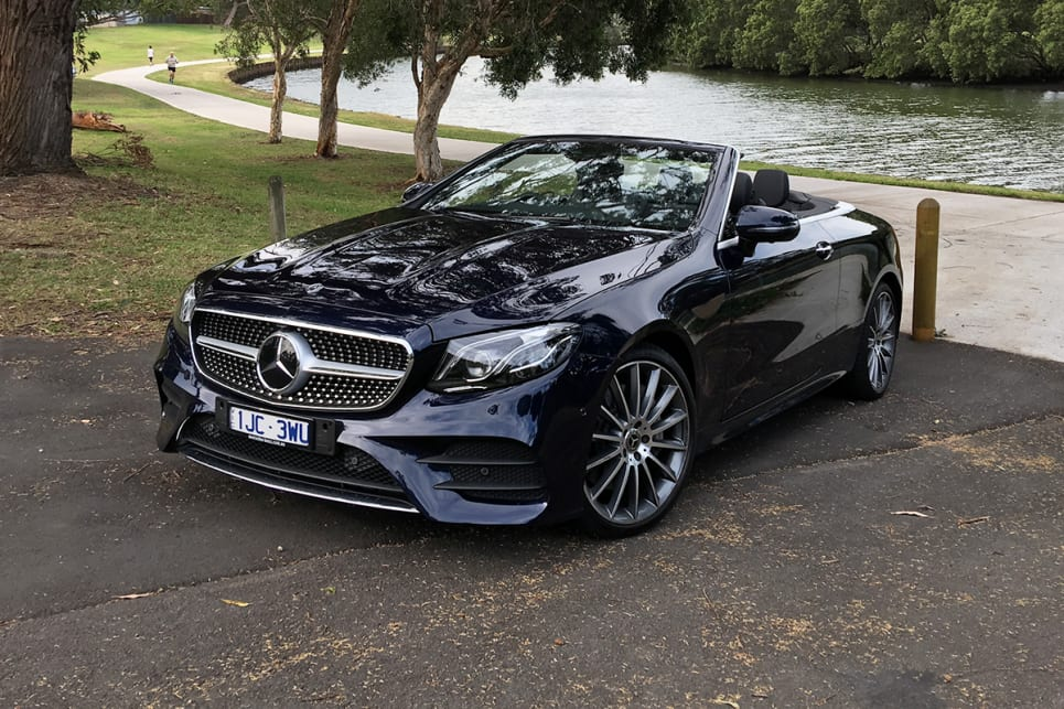 Mercedes benz e class cabriolet 2018 review e 400 carsguide for Mercedes benz e350 cabriolet