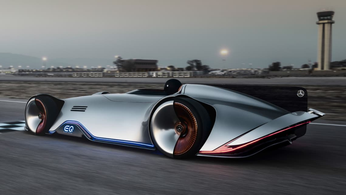 Mercedes-Benz Vision EQ Silver Arrow points the way ...