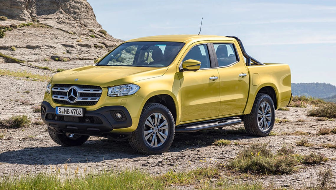 Mercedes-Benz Pickup Unveiled at Long Last