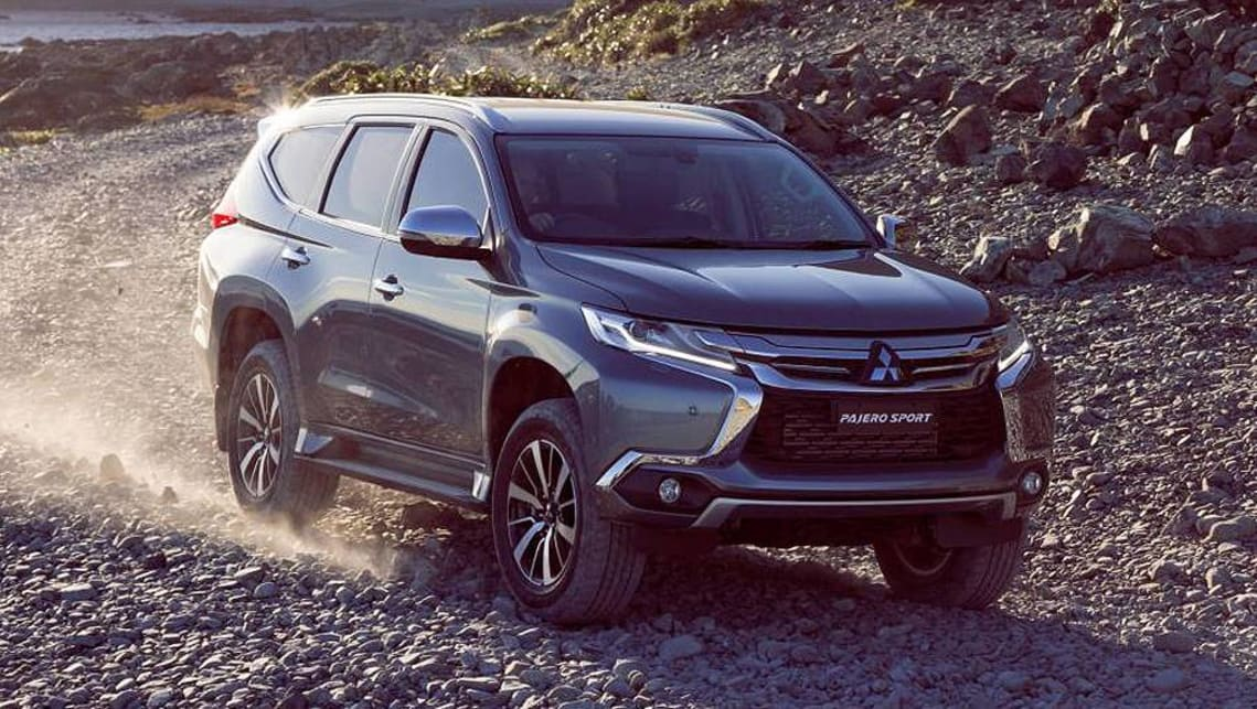 Mercedes Gls 2019 >> Mitsubishi Pajero Sport 2018 pricing and specs confirmed - Car News | CarsGuide