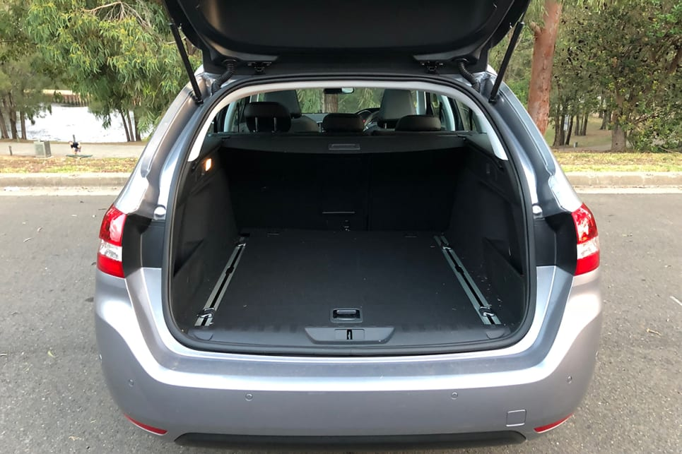 With the rear seats in place, you can expect 625 litres of storage space. (image credit: Andrew Chesterton)