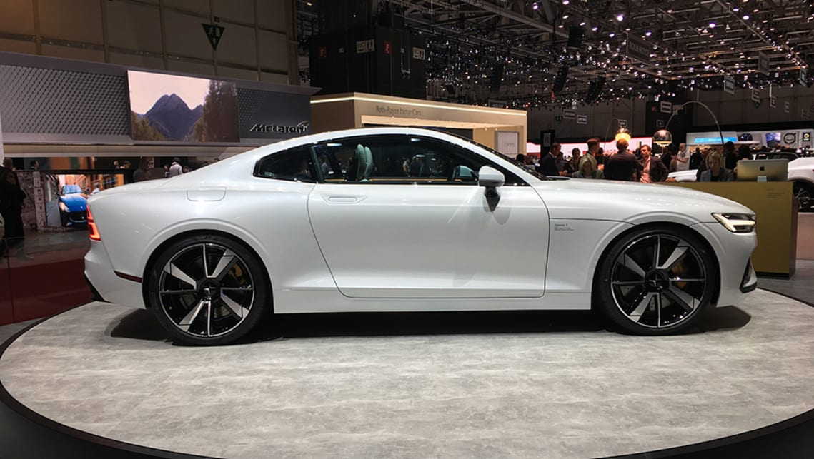 Polestar claims the 2+2 seat coupe is capable of a combined output of 447kW and 1000Nm.