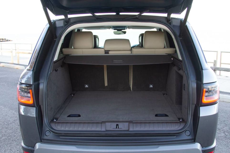 The boot holds 684 litres with the back seats up, and 1761 with the back seats down.