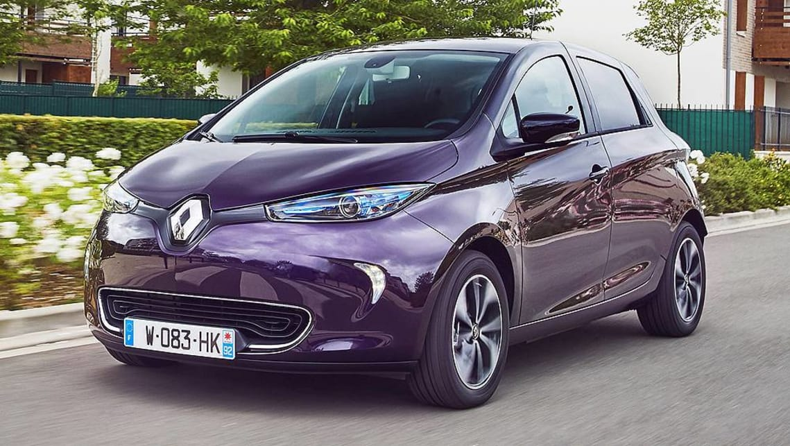 Renault Zoe 2019 Double Down On French Ev Car News Carsguide