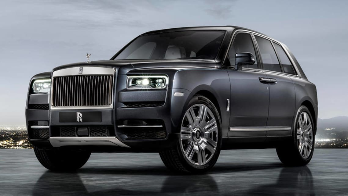 The 2660kg Cullinan has been engineered to mix opulent ride comfort with genuine off-road ability. (image credit: GoAutoMedia)