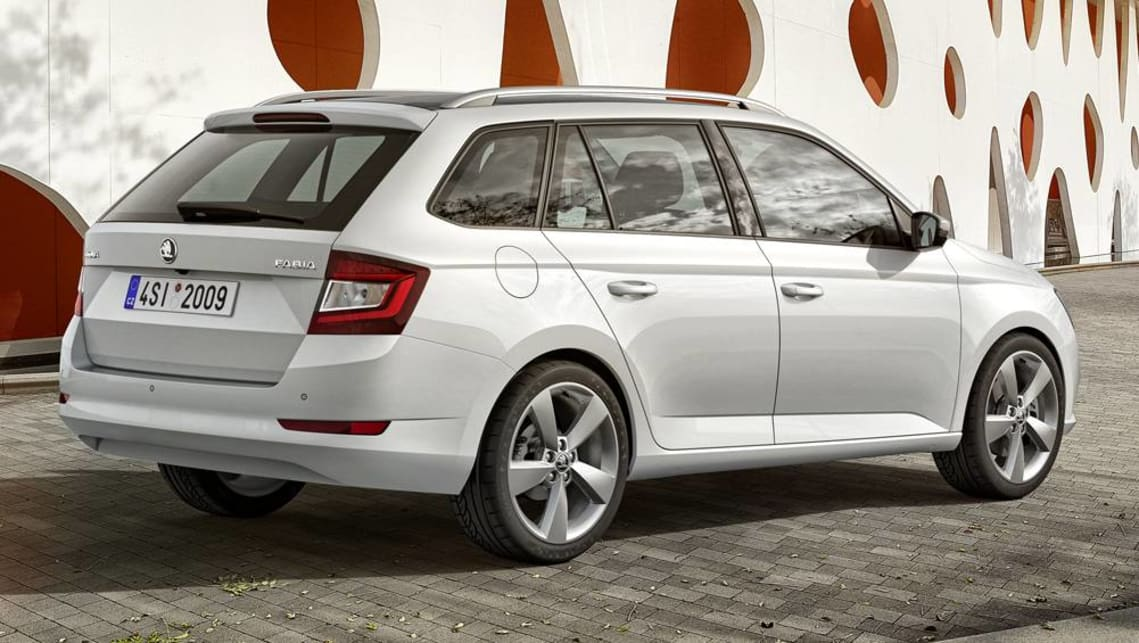 The new Fabia features a reversing camera and auto emergency braking (AEB) up to 30km/h.