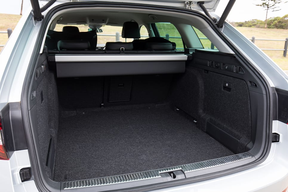 The Skoda Superb doesn't disappoint with a whopping 660 litres of boot space.