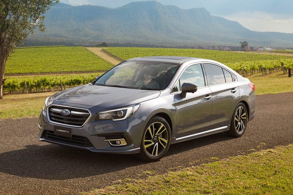 Subaru Liberty 3 6r 2018 Review Snapshot Carsguide