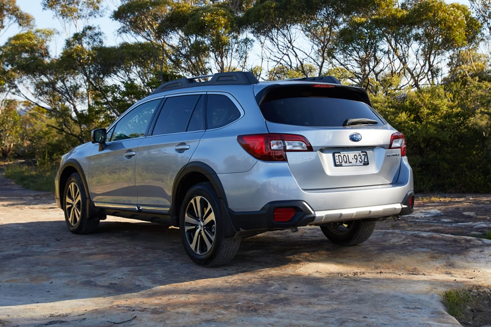 2018 Subaru Outback. (3.6R variant shown)