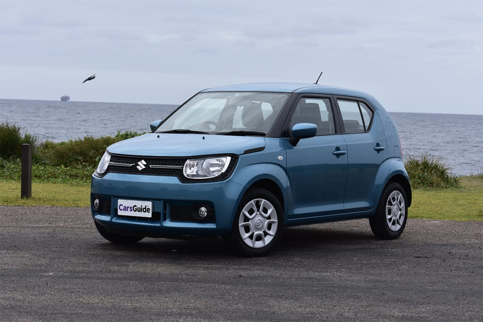 suzuki ignis 2018 review gl carsguide. Black Bedroom Furniture Sets. Home Design Ideas