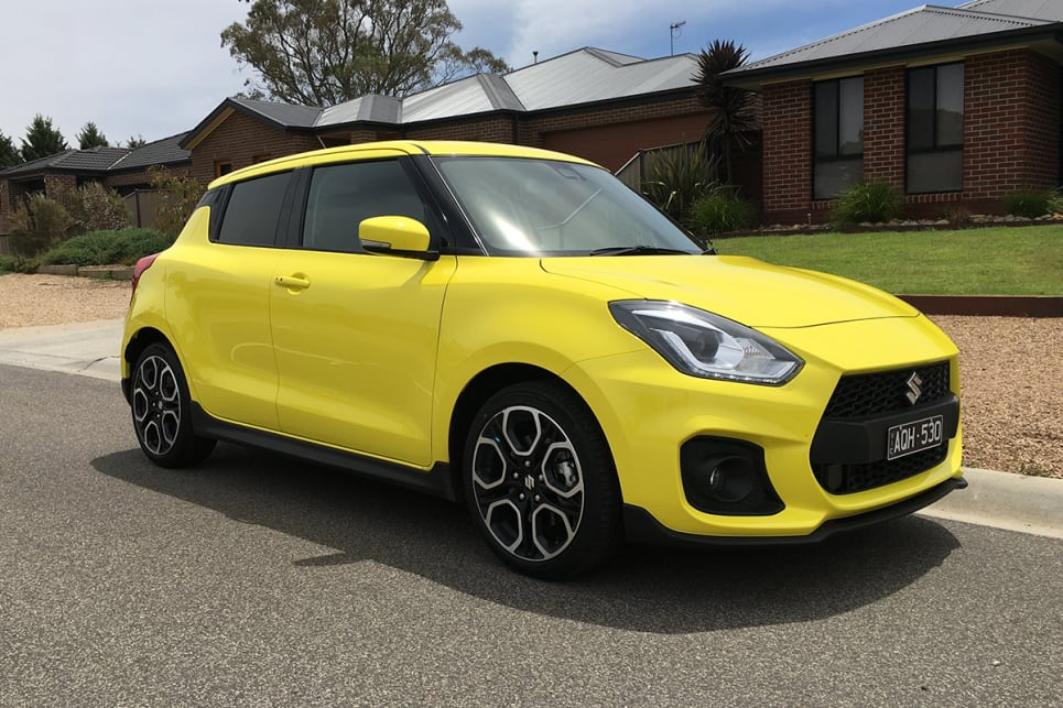 suzuki swift sport 2018 pricing and specs confirmed car news carsguide. Black Bedroom Furniture Sets. Home Design Ideas