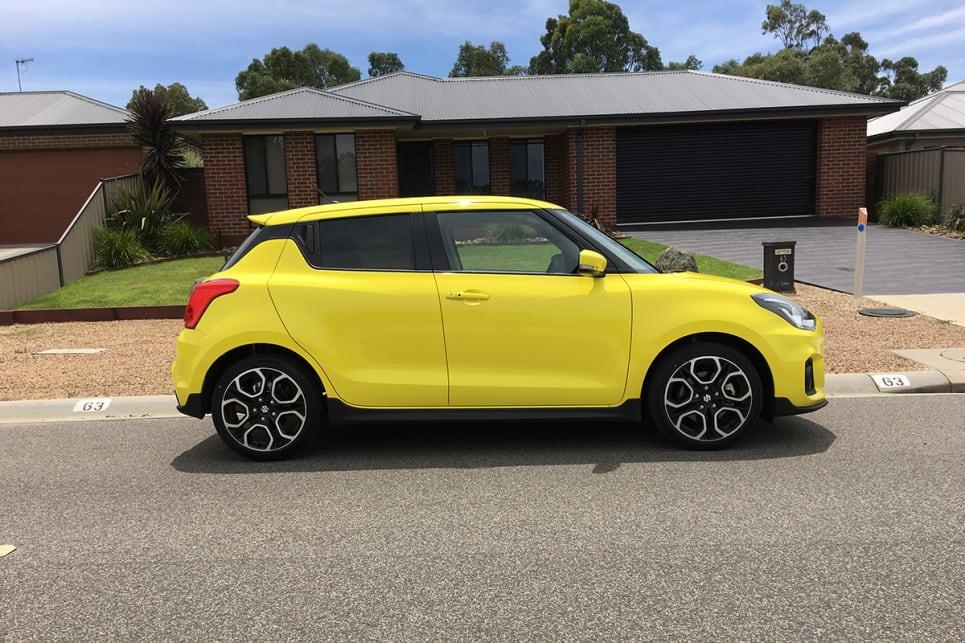 Suzuki Swift Sport Colours