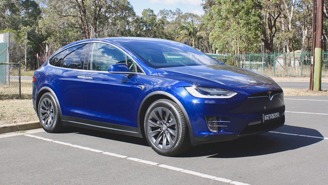 Tesla Model S 75d >> Tesla Model X 2018 Review 75d Carsguide