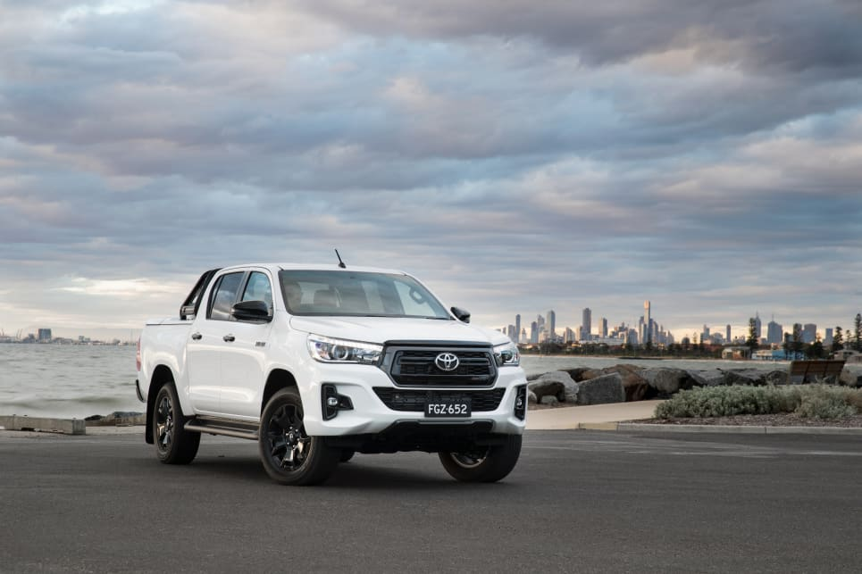 2018 Toyota HiLux. (Rogue variant shown)