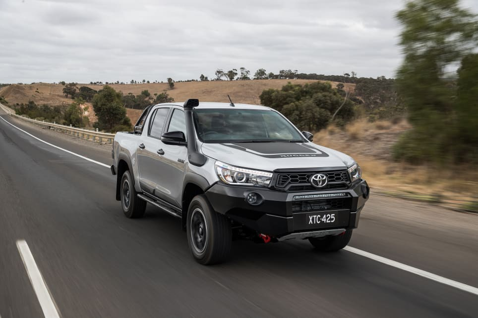 Toyota HiLux 2018 Review Rogue Rugged Rugged X CarsGuide