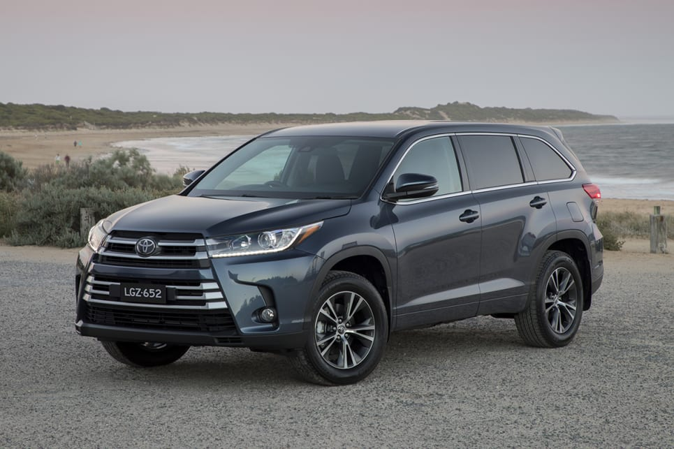 2018 Toyota Kluger. (GX variant shown)