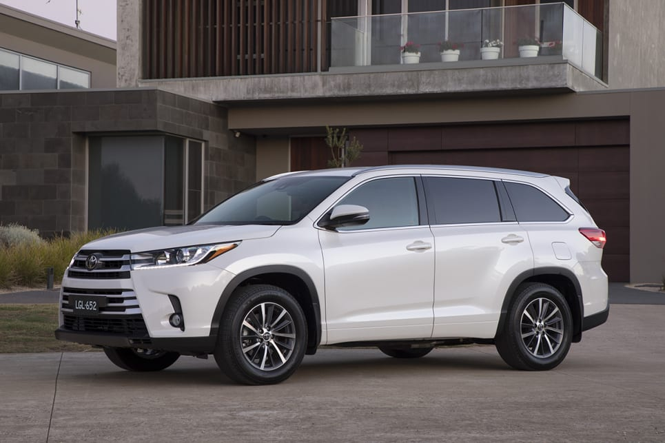 Toyota Kluger Grande 2018 review: snapshot | CarsGuide